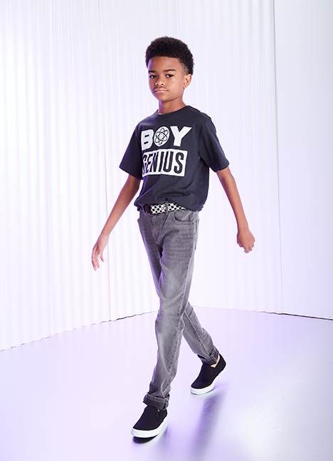 Ayden Hill fashion model Kim Dawson Agency single grid slide 3