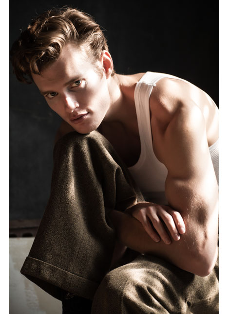 John Vanbeber fashion model kim dawson agency single grid slide 12