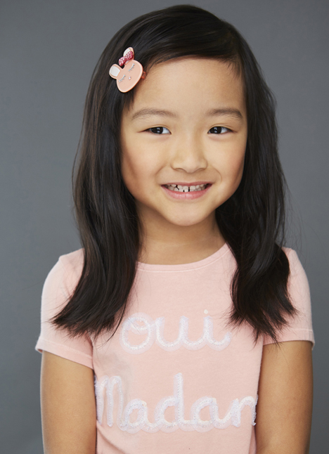 Gabriella Lee on camera actress Kim Dawson Agency board thumbnail