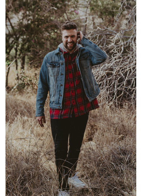Caleb Feemster big tall model kim dawson agency single grid slide 5