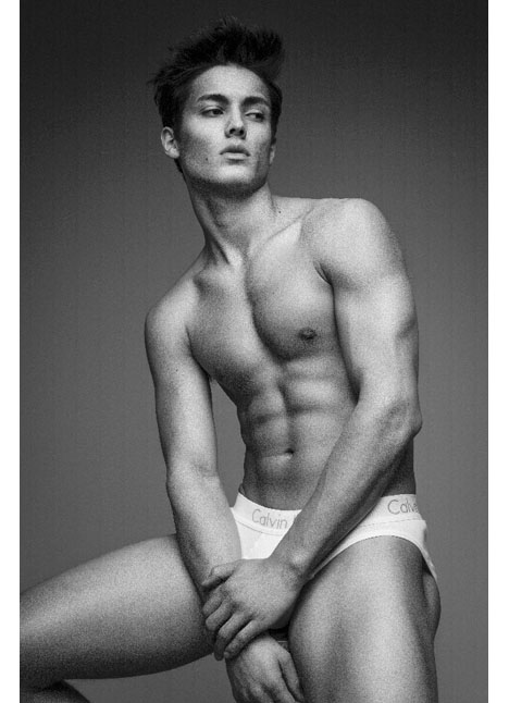 Colby Brittain fashion model kim dawson agency single grid slide 9