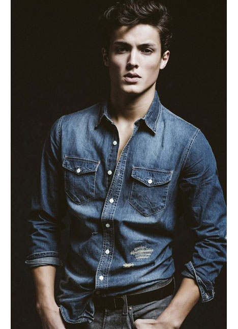 Colby Brittain fashion model kim dawson agency single grid slide 15
