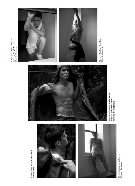 Colby Brittain fashion model kim dawson agency single grid slide 17
