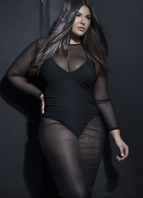 Alexandra Johnson fashion plus curve model dallas texas kim dawson agency single grid slide 8