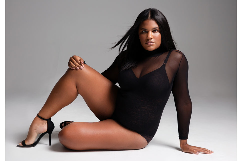 Brittany Winston curve plus model kim dawson agency single grid slide 7