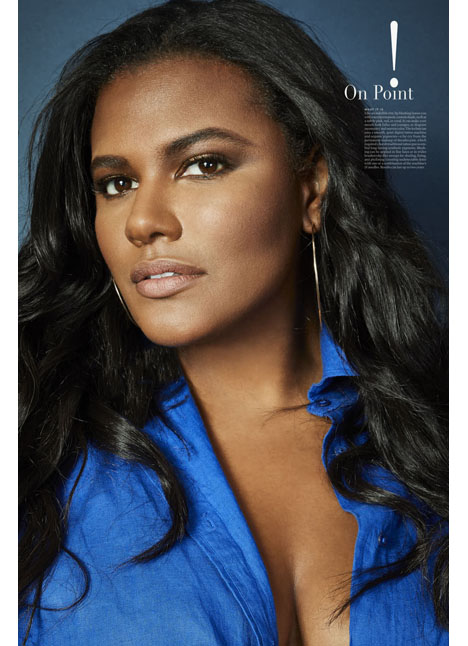 Brittany Winston plus curve model kim dawson agency single grid slide 6