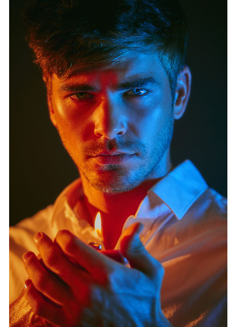 Kyle Ellison fashion model dallas texas kim dawson agency single grid slide 11