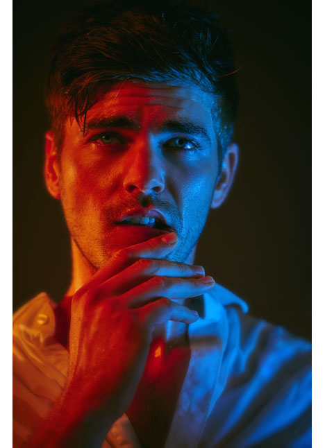 Kyle Ellison fashion model dallas texas kim dawson agency single grid slide 10