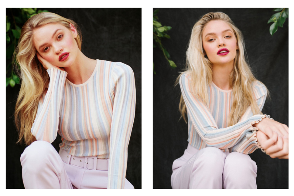 Marissa Long fashion model kim dawson agency single grid slide 9