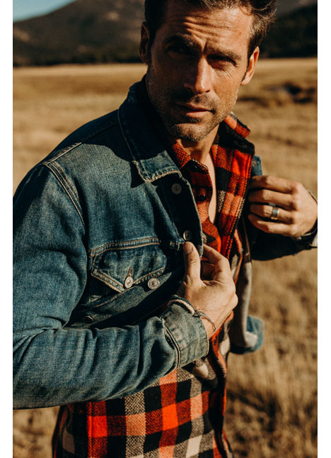 Chad Pinther fashion model kim dawson agency single grid slide 14