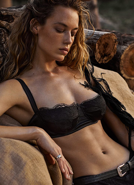 Hannah Ferguson fashion model kim dawson agency