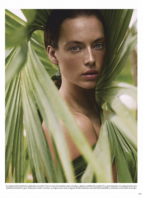 Hannah Ferguson fashion model kim dawson agency single grid slide 4
