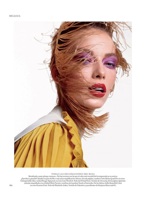 Hannah Ferguson fashion model kim dawson agency single grid slide 19