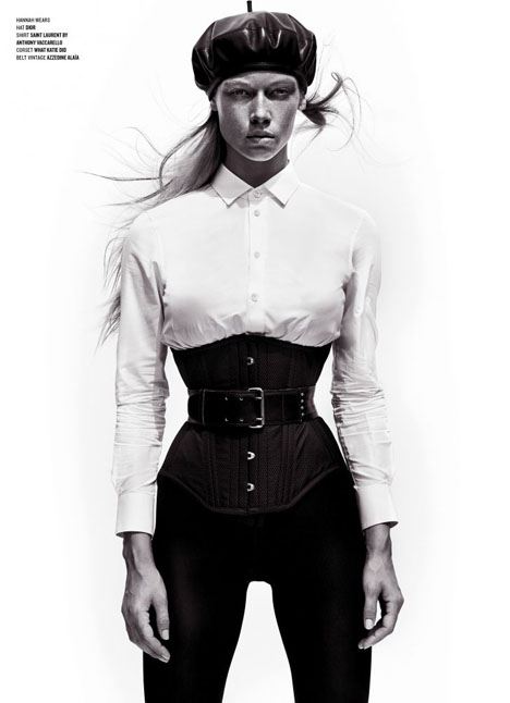 Hannah Ferguson fashion model kim dawson agency single grid slide 24