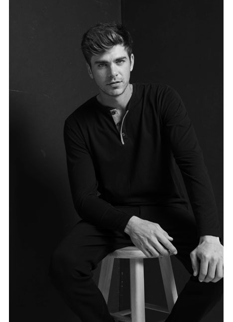 Kyle Ellison fashion model kim dawson agency single grid slide 0