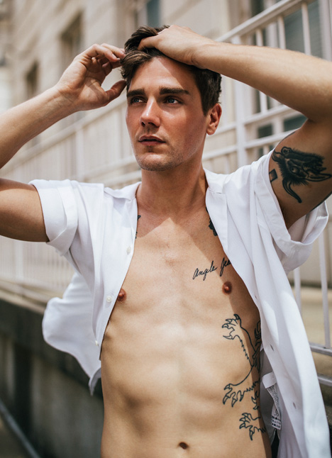 Matt McGlone fashion model dallas texas kim dawson agency single grid slide 9