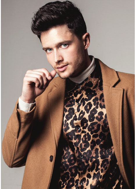 Michael Fjordbak fashion model kim dawson agency single grid slide 7
