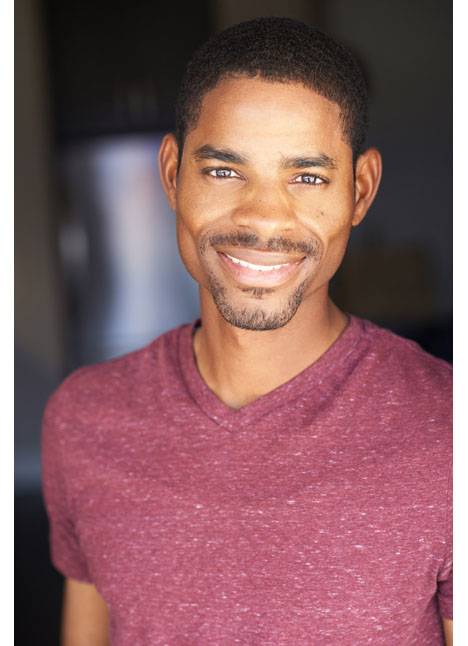 Rayshard Kelley on camera actor commercial print lifestyle model kim dawson agency single grid slide 0