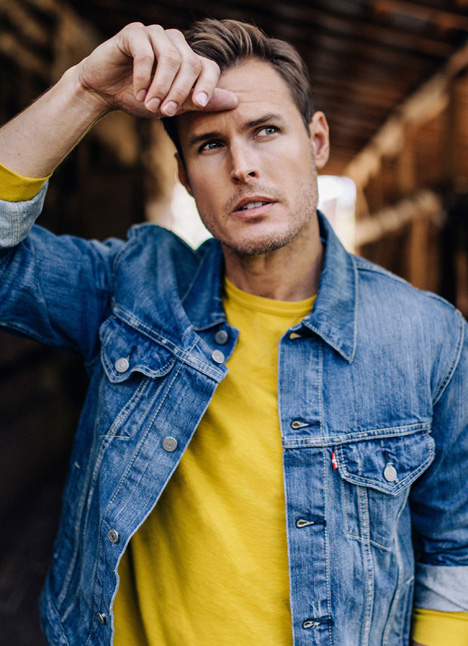 Stuart Ridnour fashion model dallas texas kim dawson agency single grid slide 0