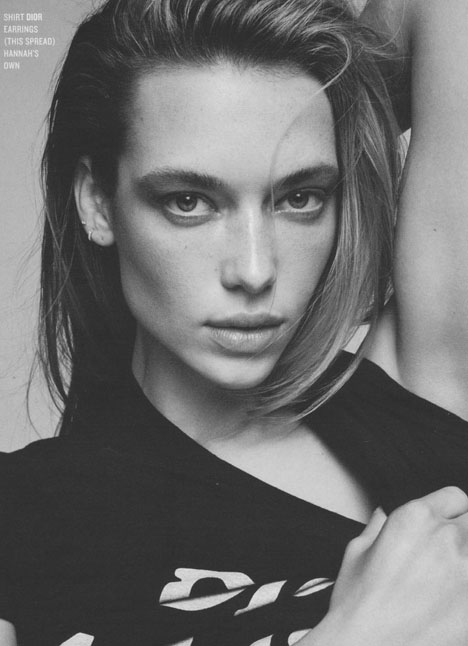 Hannah Ferguson fashion model kim dawson agency single grid slide 26