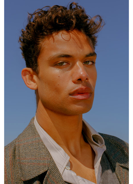 Cassius Simpson fashion model dallas texas kim dawson agency single grid slide 0