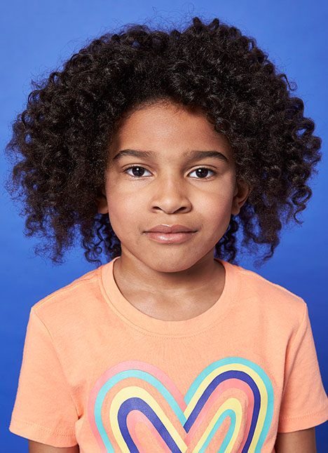 Amiya Boyd print model kim dawson agency single grid slide 0