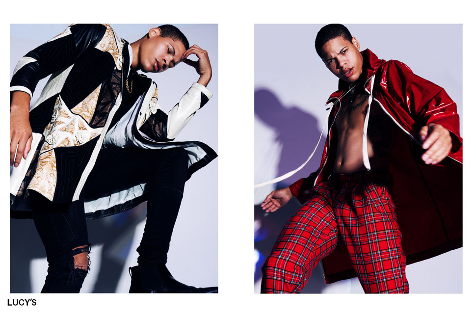 Shaun Balkum fashion model kim dawson agency single grid slide 6