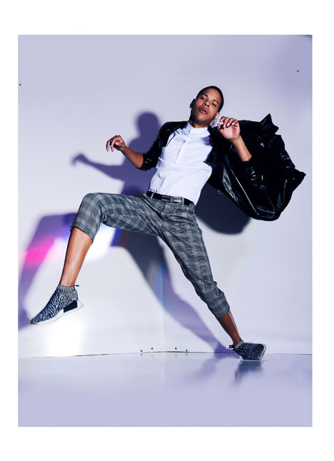 Shaun Balkum fashion model kim dawson agency single grid slide 8
