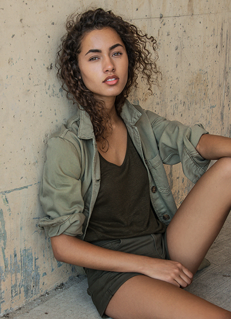 Meliana Hlavac fashion model kim dawson agency single grid slide 1