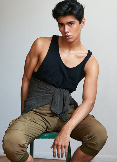 Luis Morales fashion model kim dawson agency single grid slide 3