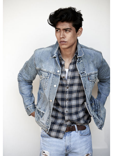 Luis Morales fashion model kim dawson agency single grid slide 7