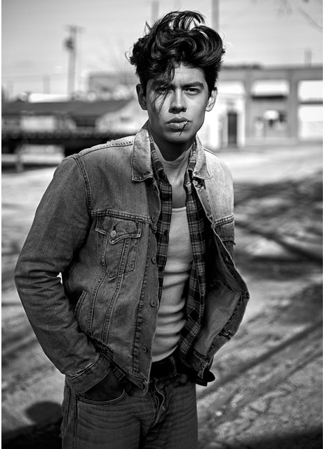 Luis Morales fashion model kim dawson agency single grid slide 6