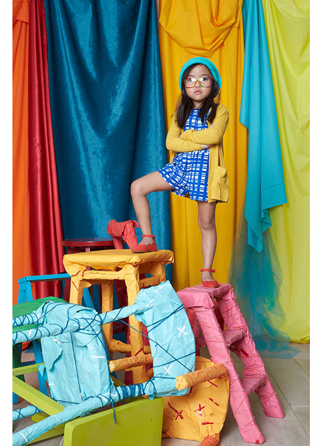 Kinley Trieu print model kim dawson agency single grid slide 1