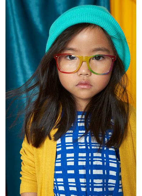 Kinley Trieu print model kim dawson agency single grid slide 5