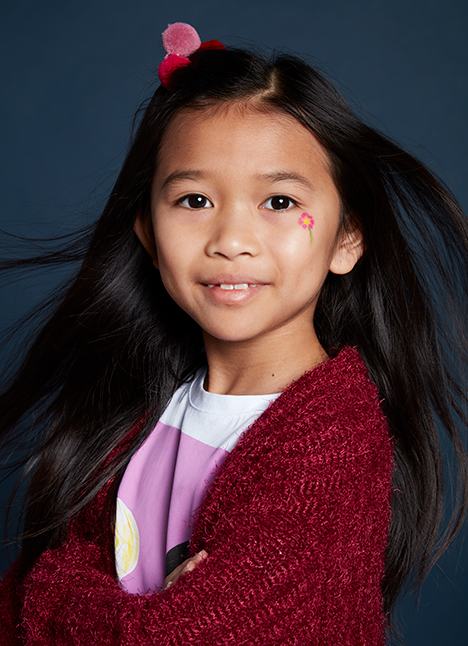 Rylie Trieu print model kim dawson agency single grid slide 0
