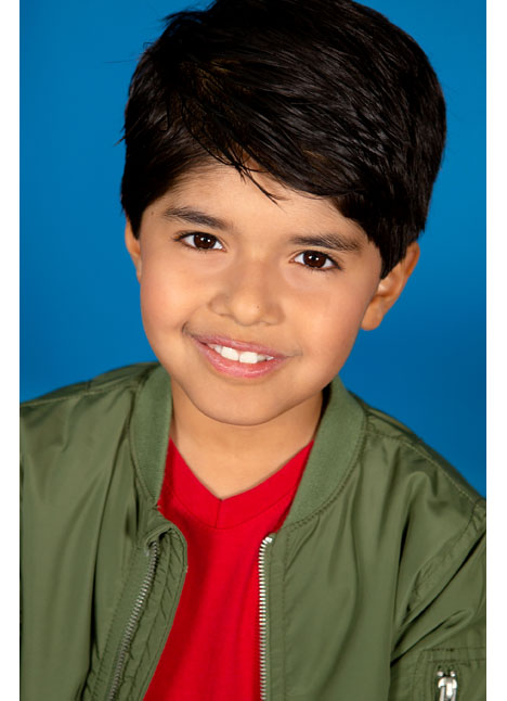 Mateo Fernandez on camera actor kim dawson agency board thumbnail