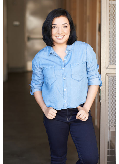 Krishma Trejo on camera actor lifestyle commercial print model kim dawson agency single grid slide 1