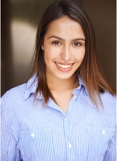 Lexi Villareal on camera actor lifestyle commercial print model kim dawson agency board thumbnail