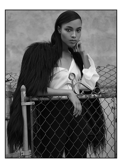 Kourtney Mitchell fashion model kim dawson agency single grid slide 4
