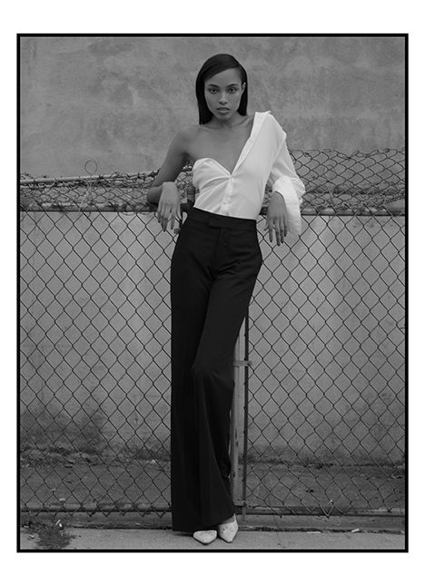 Kourtney Mitchell fashion model kim dawson agency single grid slide 5
