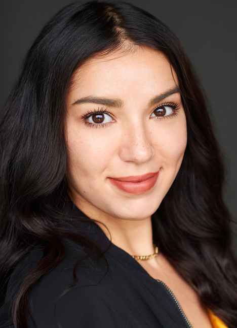Nallely Munoz on camera actor kim dawson agency board thumbnail