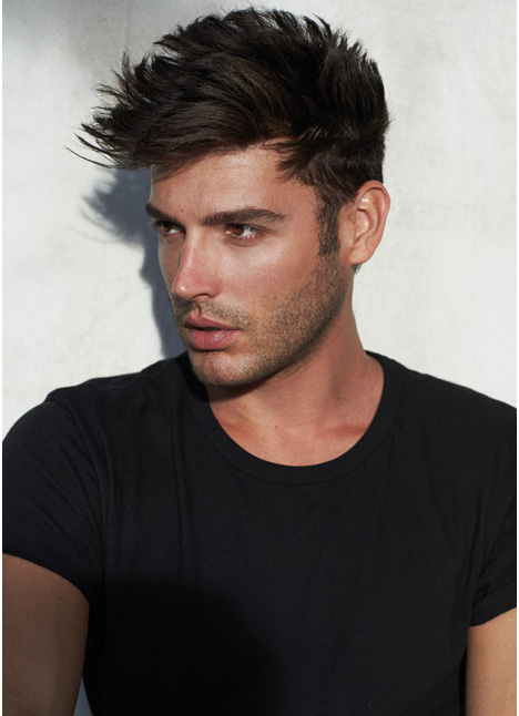 Brent Weber fashion model single grid slide 3