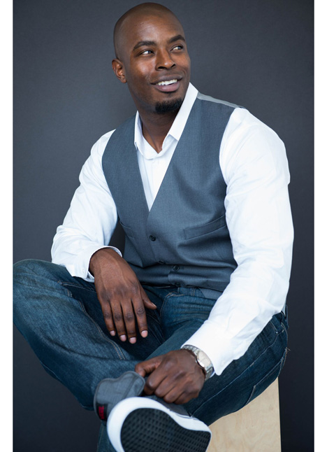 Cedric Sims on camera actor commercial print model