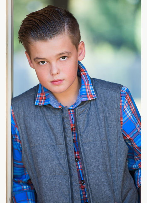 Cooper Mallow on camera actor