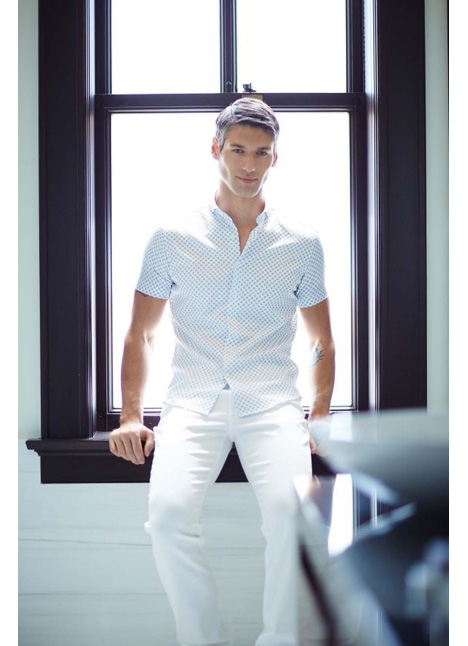 Erik Neff fashion commercial print model on camera actor single grid slide 9