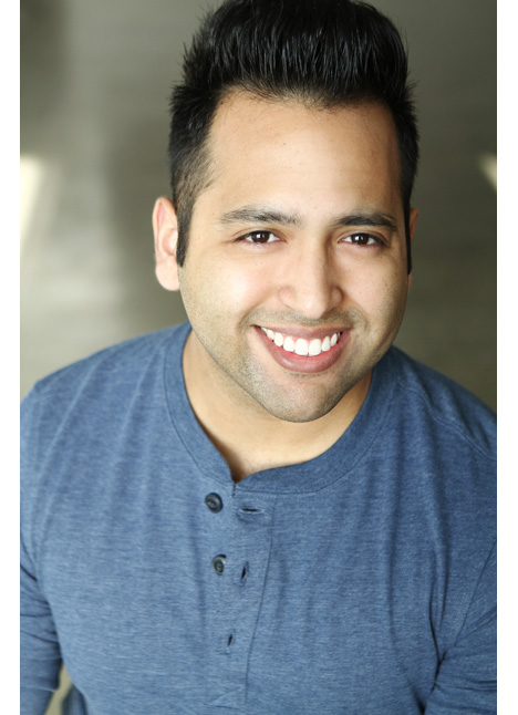 Gerard Lucero on camera actor commercial print model board thumbnail