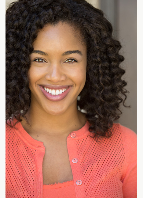 Morgan Thomas-Calhoun commercial print model on camera actress board thumbnail