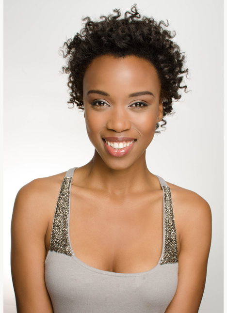 Shailaun Manning commercial print model on camera actress board thumbnail