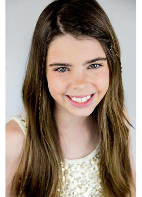 Sofia Reyes on camera actress board thumbnail