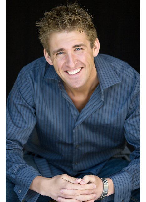 Zach Hopkins commercial print model on camera actor board thumbnail